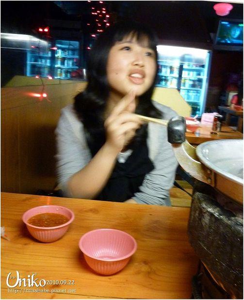 旁邊那碗是泰式醬