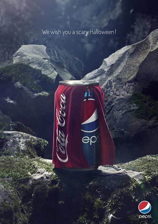 Pepsi / We wish you a scary Halloween