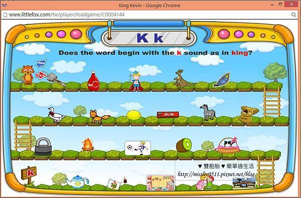 自然發音-小遊戲游標移到哪兒就會自動告知英文名