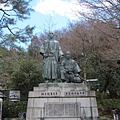 圓山公園坂本龍馬像