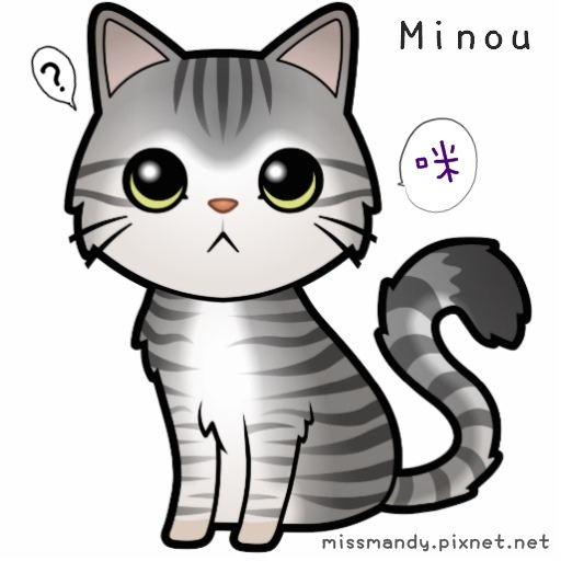 cartoon minou