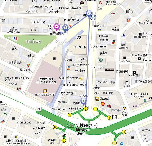 27-0新村辣炒雞排-地圖