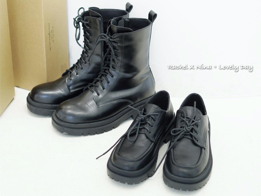 D+AF敦南門市 馬丁靴 平底鞋 穿搭 短靴.006.jpeg