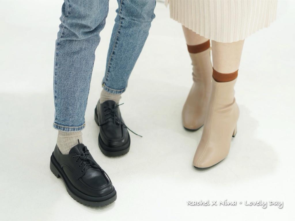 D+AF敦南門市 牛津鞋 平底鞋 穿搭 短靴.007.jpeg