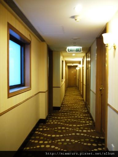 0413 砲台山麗東酒店走廊