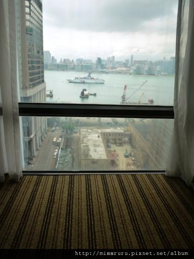 0413 砲台山麗東酒店房間窗外