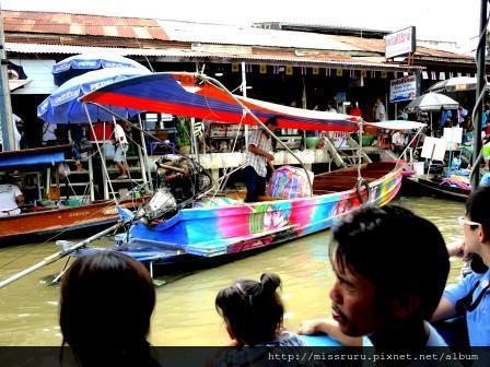 安帕瓦水上市場-5+1廟遊船