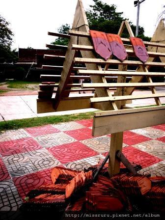 安帕瓦水上市場-5+1廟遊船-廟1許願牌