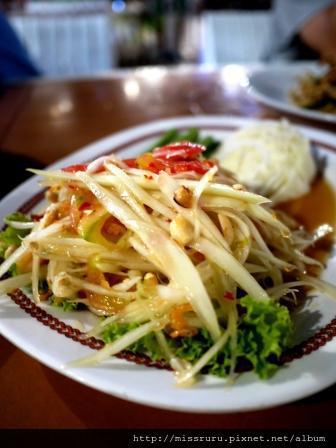 THON KRUENG-台灣風味木瓜絲