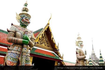 玉佛寺門神