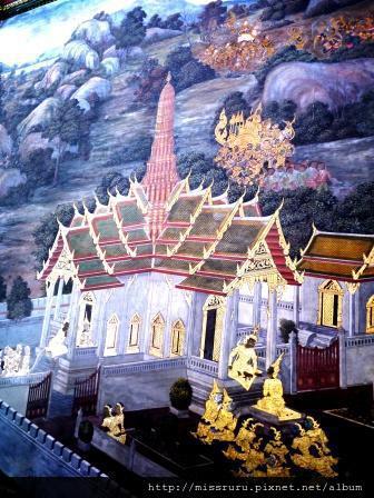 玉佛寺壁畫