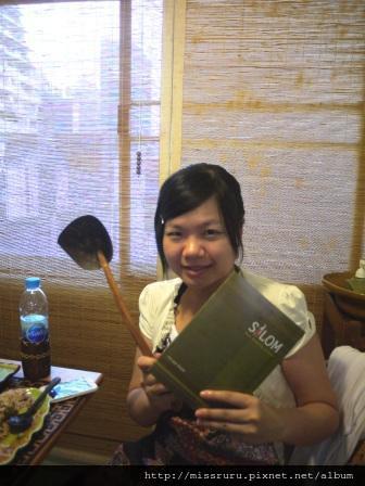 學泰國料理-最後拿到食譜與免費的椰子殼鍋鏟