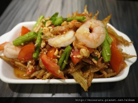 Yum Saap-炸木瓜絲鮮蝦沙拉69B