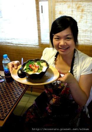 學泰國料理-第一道菜椰奶雞肉