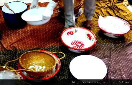 學泰國料理-第一次過濾的是cream第二次是milk