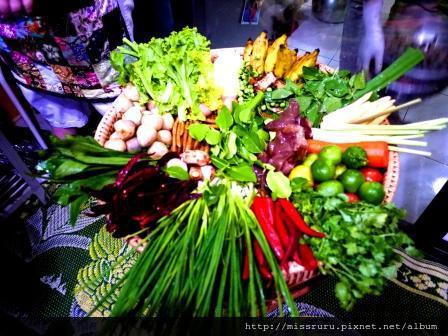 學泰國料理-洗完的菜