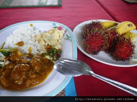 Ayutthaya-泰國最難吃的一餐-這輩子吃過最難吃的米