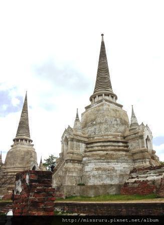 Ayutthaya-WAT PHRASISANPETH好像是玉佛寺的原型