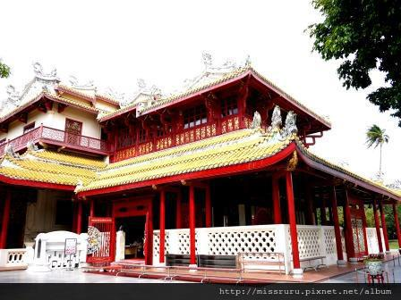 邦芭茵夏宮-中國式建築