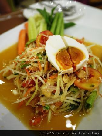 MANNA-鹹鴨蛋青木瓜沙拉