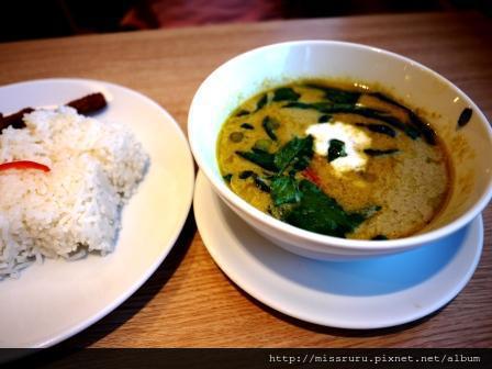 晚餐-綠咖哩