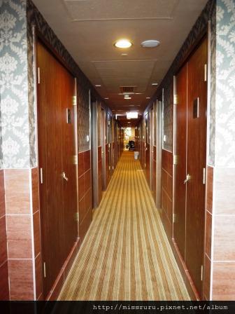 華麗海景酒店-走廊