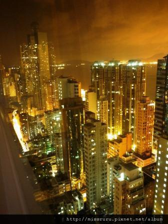 華麗海景酒店-窗外夜景