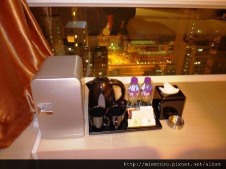 華麗海景酒店-超迷你窗邊飲料區