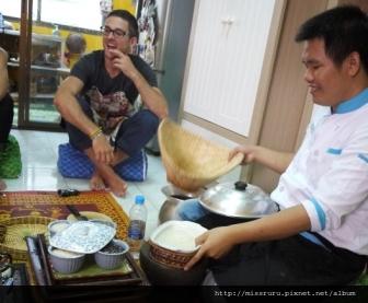 學泰國料理-蒸米