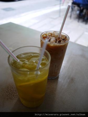 勝香園-奶茶與檸檬蜜