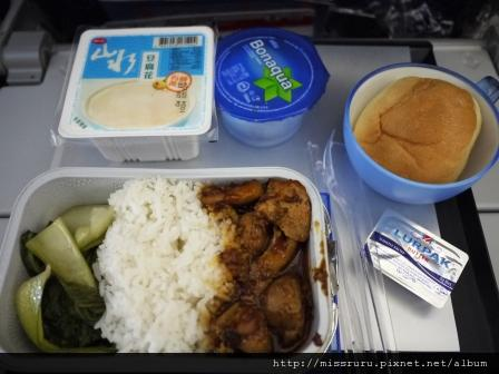 香港飛曼谷飛機餐