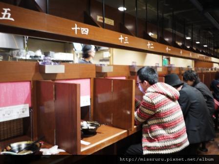 22-一蘭拉麵用餐區