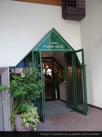 28-HOTEL富士屋門口