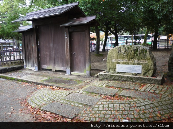 森鷗外曾經住過的地方-只剩下門
