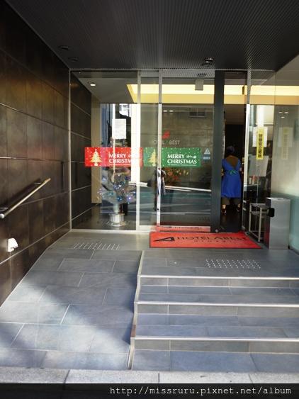 姬路HOTEL ABEST飯店-門口