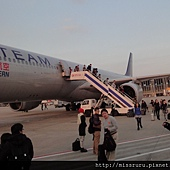 上海下飛機囉