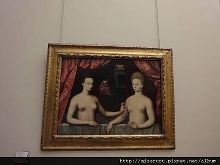 Gabrielle d'Estrées et sa soeur