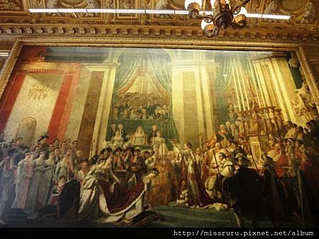 拿破崙加冕圖-凡爾賽宮版