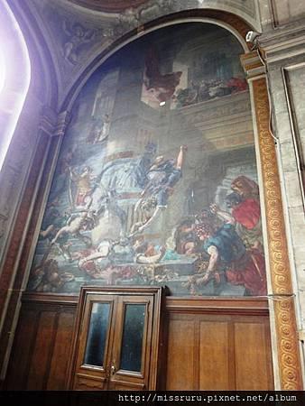 德拉克洛瓦的壁畫嗎