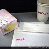 樂桃上販售的櫻餅.JPG