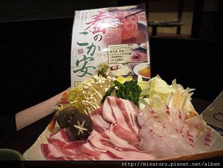 櫻鯛與鹿兒島黑豬肉.JPG