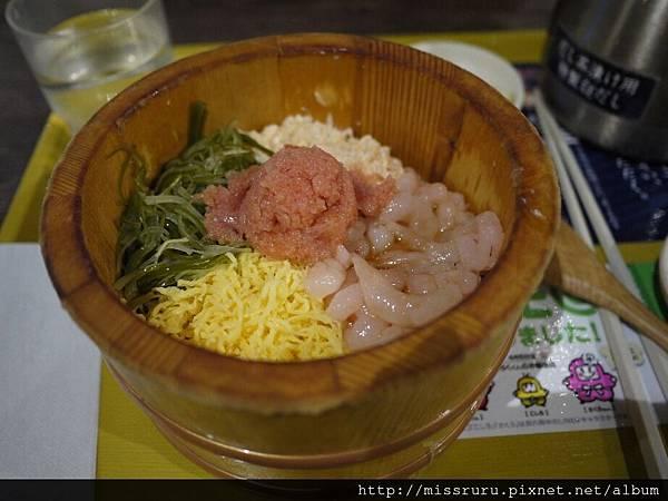 明太子甜蝦拌飯.JPG