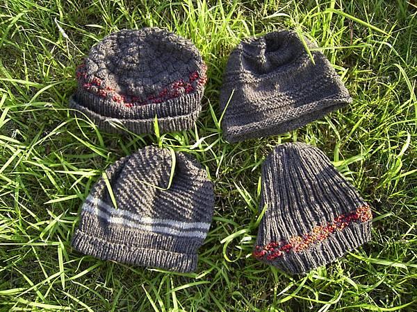 大合照--鎖鍊羊毛線帽