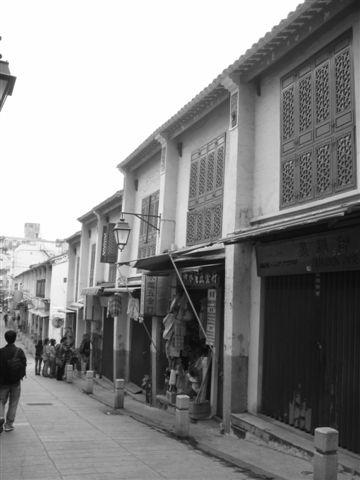 很復古的街道