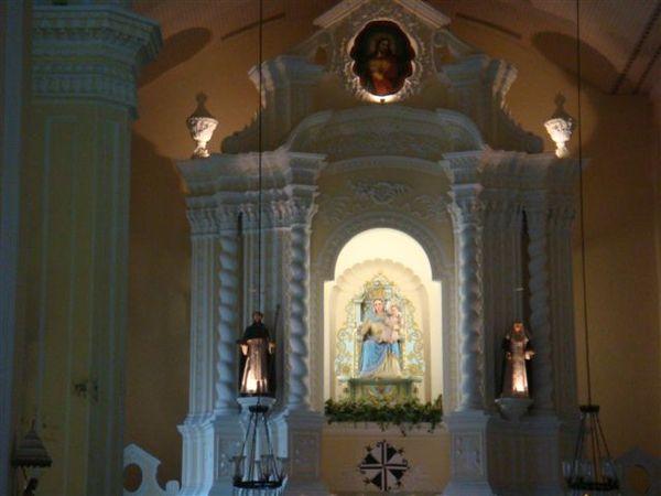 聖母玫瑰堂內部