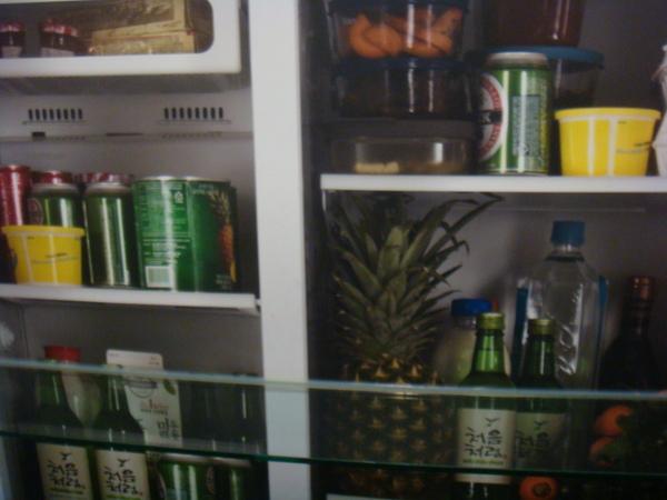 冰箱裡的食物
