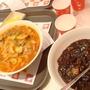 dinner-海鮮酸辣麵&韓式炸醬麵