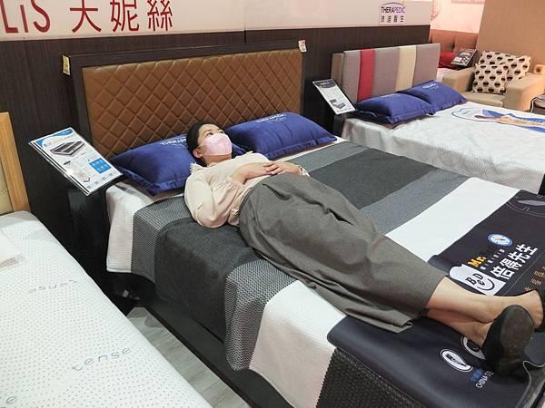 汐止遠雄倍得門市高品質床墊試躺體驗
