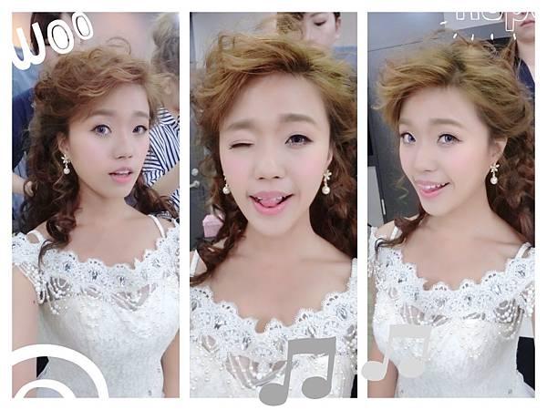 ? Wedding Day ?!!!! 白紗彩妝整體造型 Model