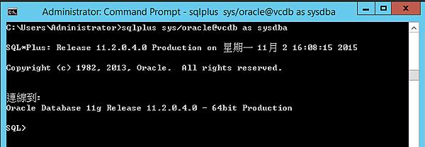 vCenter_oracleDB_install_03
